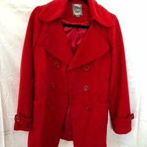 Red F21 Coat